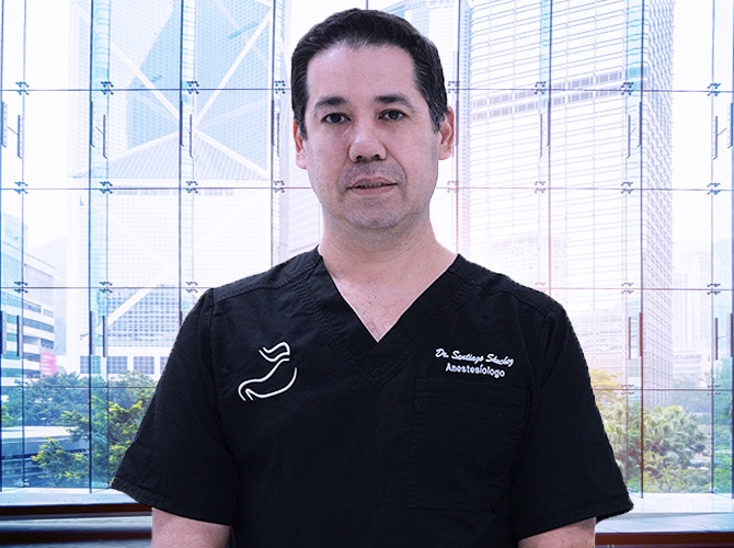 Dr. Jesus Santiago Sanchez is a certified anesthesiologist responsible for keeping you safe and comfortable during and after your operation.